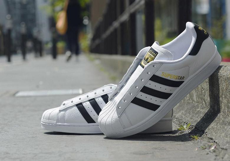 Pierwsze spojrzenie za pół najnowszy projekt Adidas Superstar — najpopularniejsze Adidasy świata - More ...