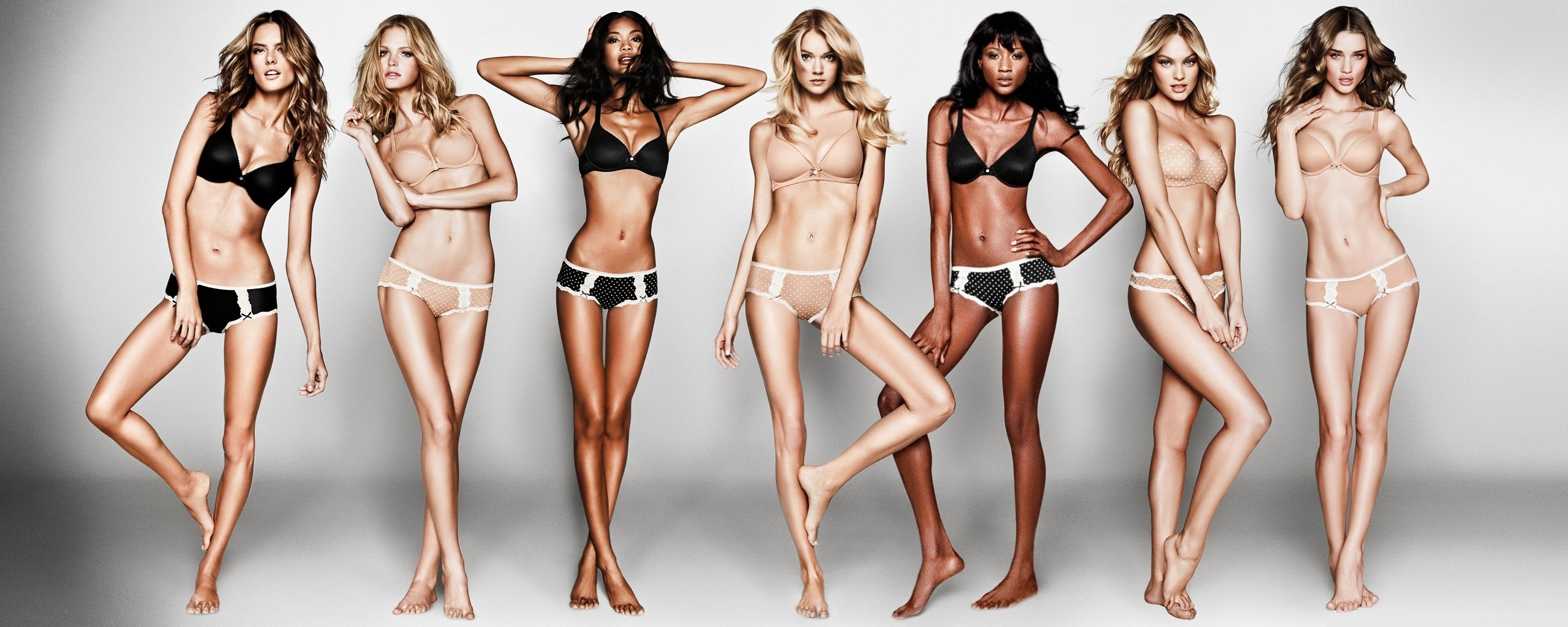 Victoria Secret Secret nagie modele żona liże czarną cipkę