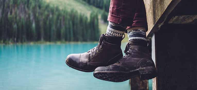 Buty na długą podróż